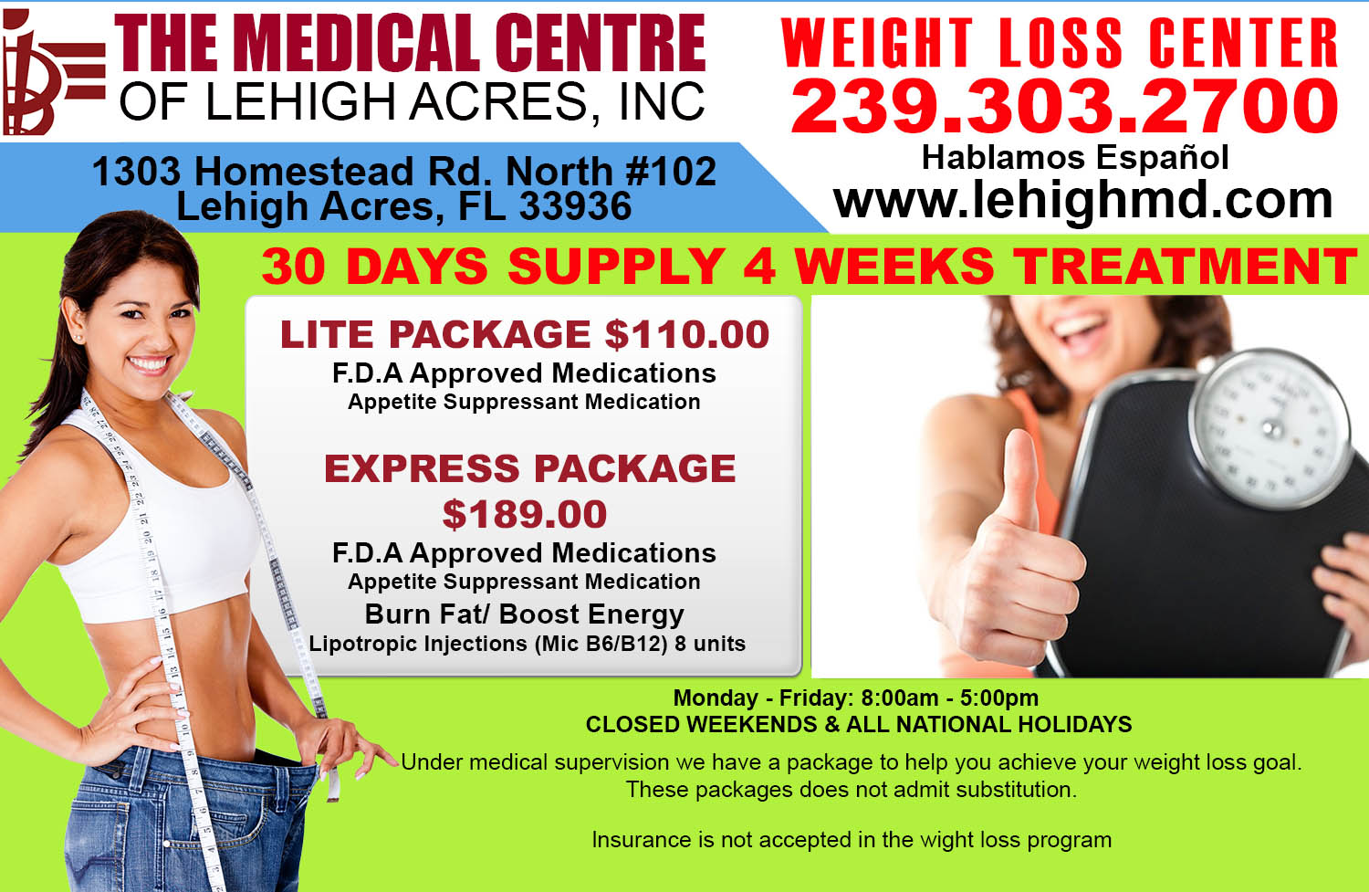 Website Weight Loss Ad